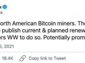 马斯克会参与采矿吗?比特币价格上涨4%